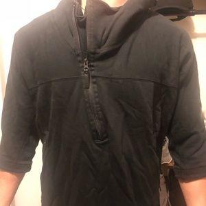 Men's Adidas James Harden 3/4 sleeve hoodie.